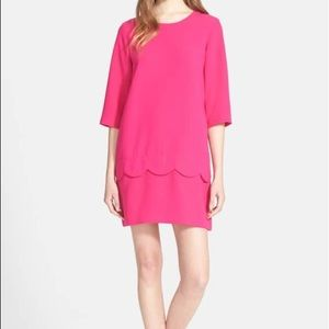 Kate Spade 'demi' scallop shift dress